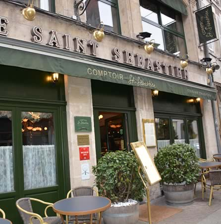 Restaurant Nevers, Comptoir Saint Sébastien