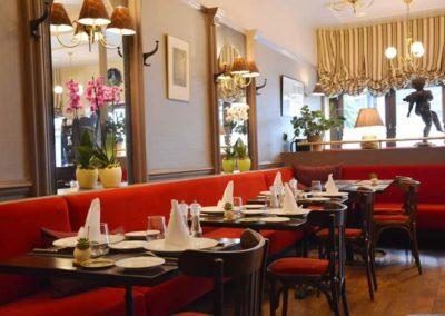 Salle du restaurant Comptoir Saint Sébastien