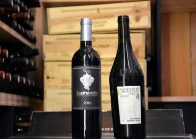 Le vins à la carte du Comptoir Saint Sébastien