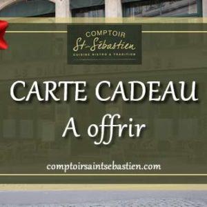 Carte cadeau digitale, Comptoir Saint Sébastien - Nevers