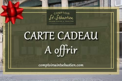 Carte cadeau digitale, Comptoir Saint Sébastien - Nevers